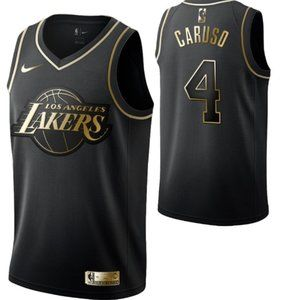 Men's Los Angeles Lakers #4 Alex Caruso Jersey
